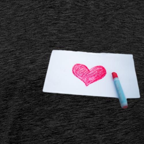 Paper love - Camiseta premium hombre