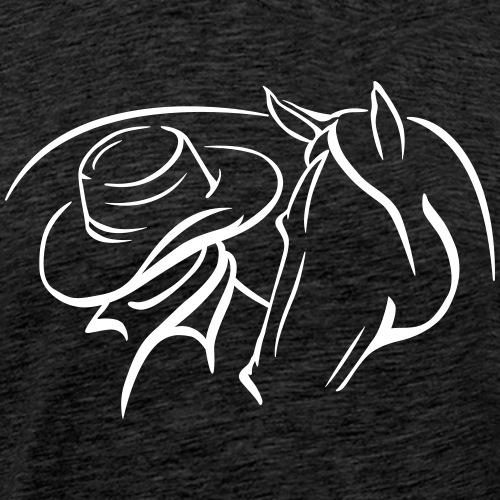 Westernhorse - Männer Premium T-Shirt