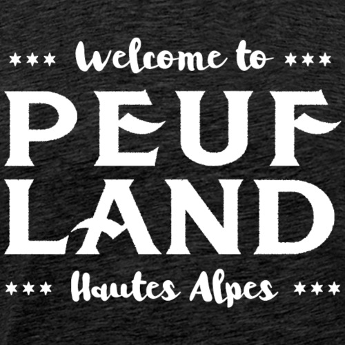 Peuf Land 05 - Hautes-Alpes - White - T-shirt Premium Homme