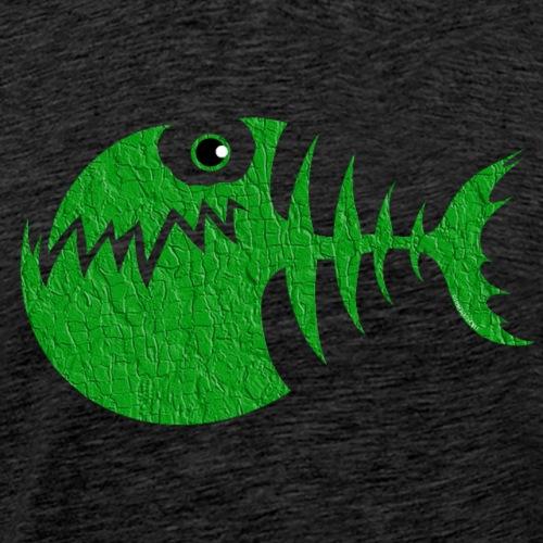 FISH BONE, Funny Sea Textiles, and Gifts for You - Miesten premium t-paita