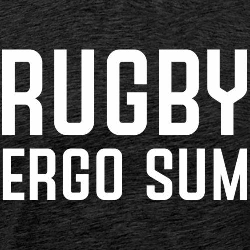 Marplo RugbyergosUM WHT - Maglietta Premium da uomo