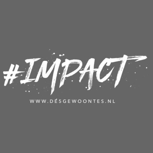 Logo impact - Mannen Premium T-shirt