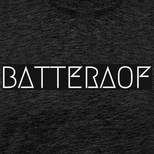 Logo van Batteraof - Mannen Premium T-shirt