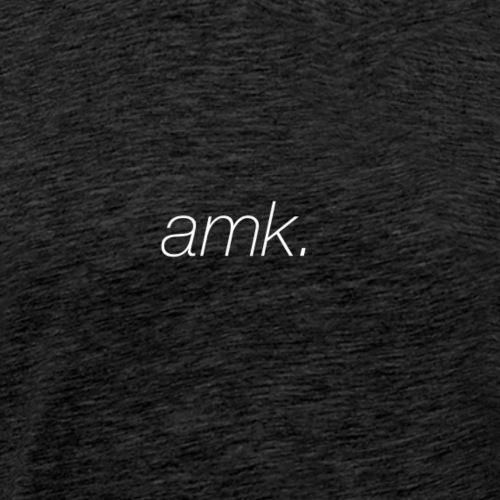 amk white - Männer Premium T-Shirt
