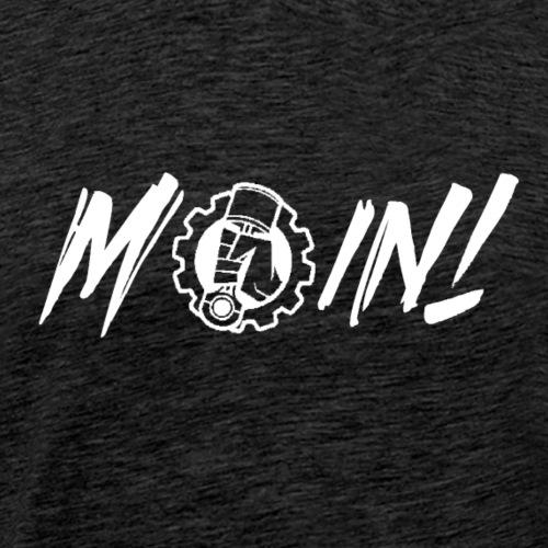 Moin white - Männer Premium T-Shirt