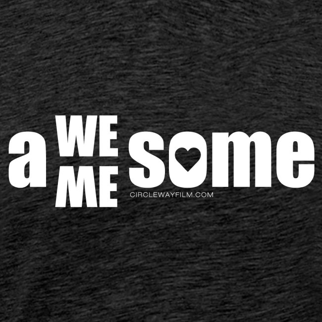 awesome we+me shirt – weiß