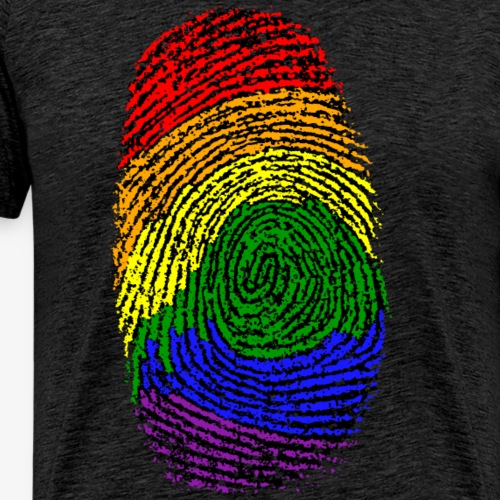 Huella LGTBI - Camiseta premium hombre