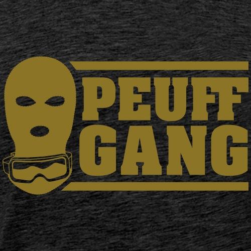 Peuff Gang Gold - T-shirt Premium Homme