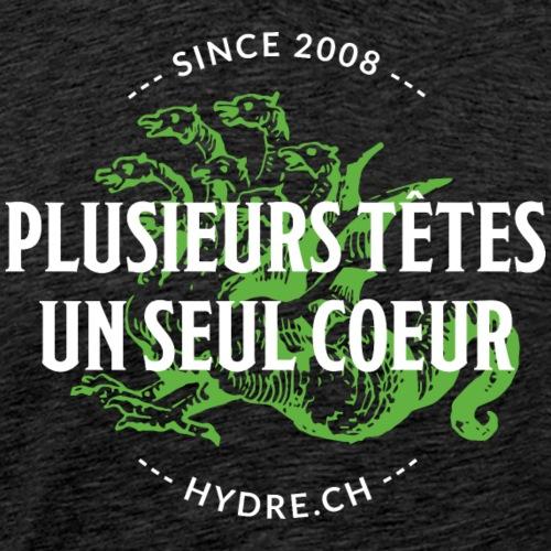 Devis - Style Irish (blanc/vert) - T-shirt Premium Homme