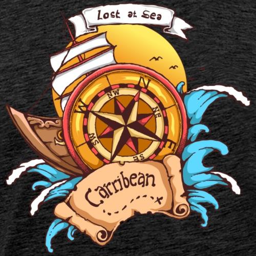 Verschwunden auf See - Männer Premium T-Shirt