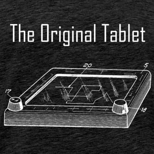 The original tablet - Men's Premium T-Shirt