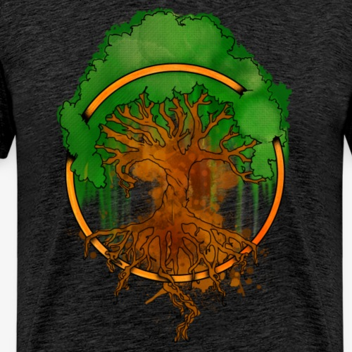 YGGDRASIL By TheRawburt - Premium-T-shirt herr