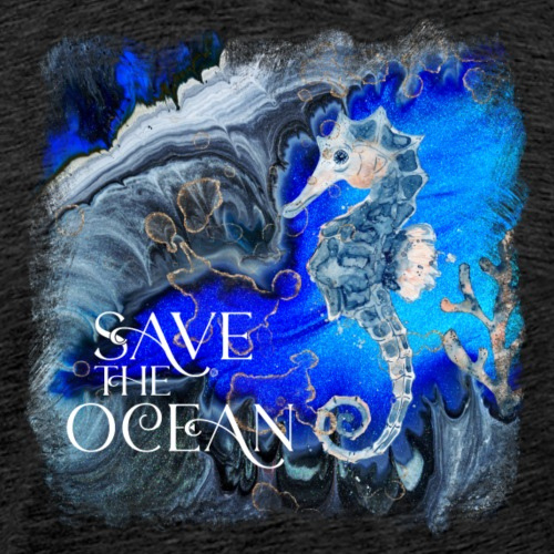 Save the ocean - Männer Premium T-Shirt
