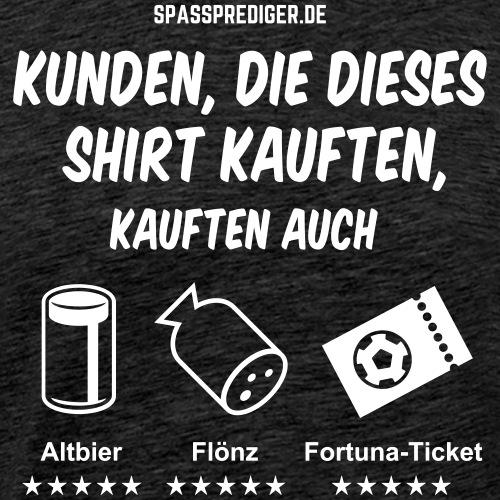 lustiges Düsseldorf-Shirt Empfehlung - Männer Premium T-Shirt
