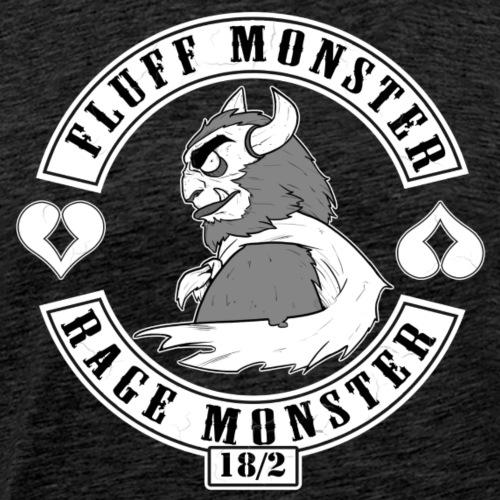 Fluff/Rage Monster - Männer Premium T-Shirt