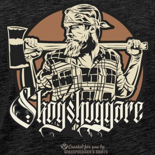 Holzfäller aus Schweden Skogshuggare - Männer Premium T-Shirt
