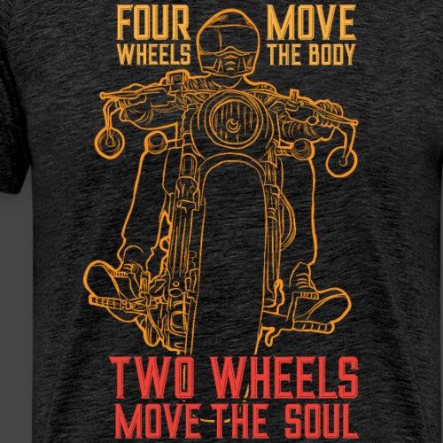 Kaksi pyörää siirtää sielua