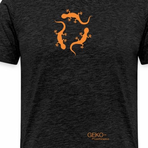 GEKO orange - Männer Premium T-Shirt