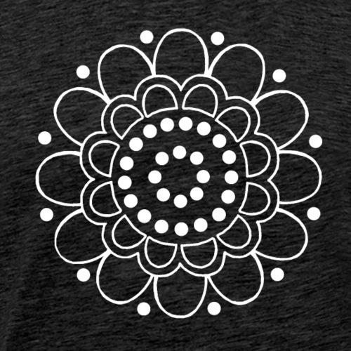 Helmikukka - Miesten premium t-paita