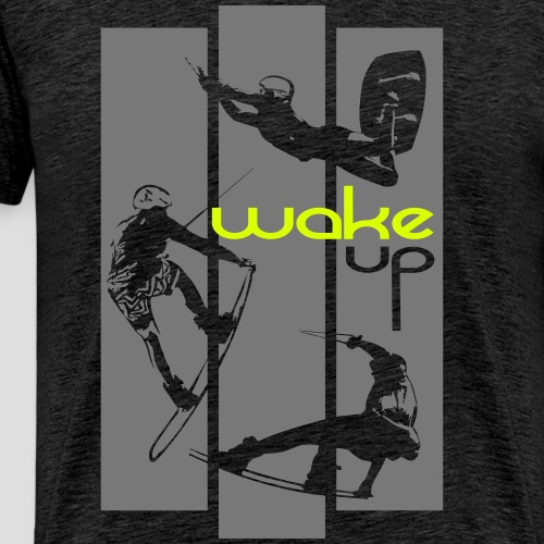 wake up everyday design - Männer Premium T-Shirt
