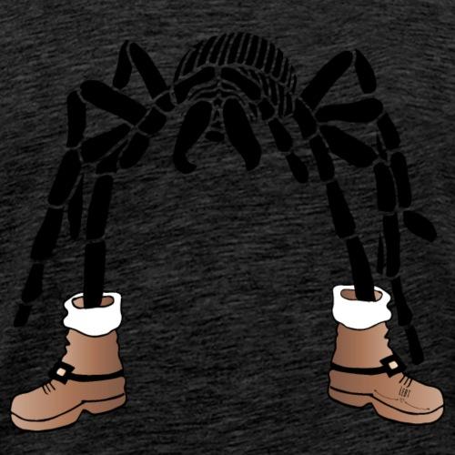 Christmas- Spider - Männer Premium T-Shirt