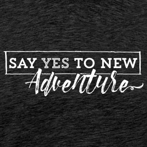 new adventure - Camiseta premium hombre