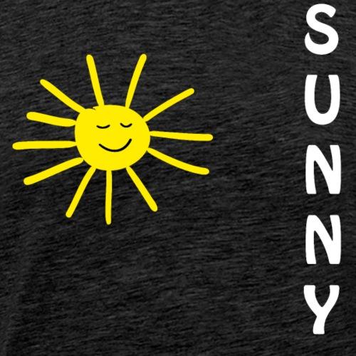 Sunny Sonne Sommer - Männer Premium T-Shirt