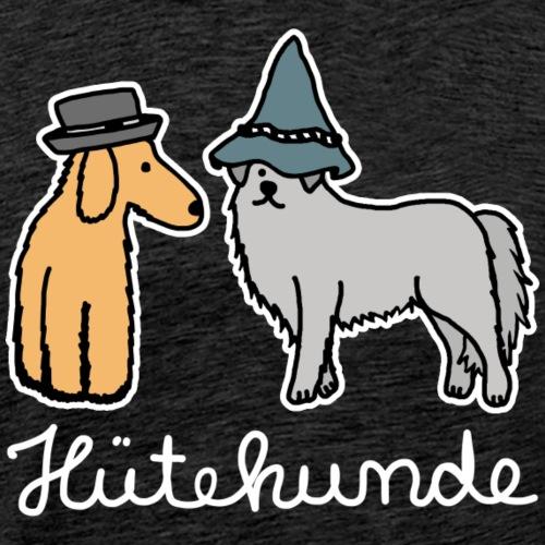 Hütehunde Hunde mit Hut Huetehund - Männer Premium T-Shirt