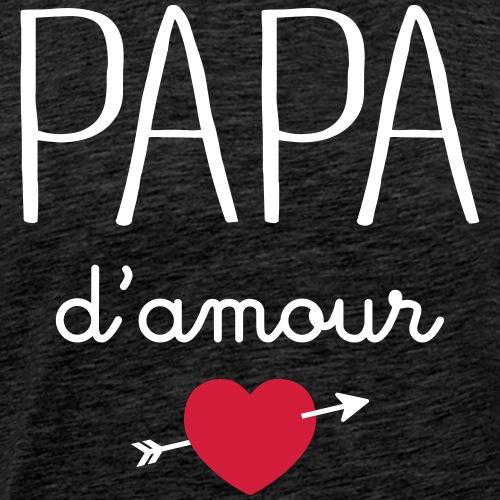 Papa D'Amour - Men's Premium T-Shirt
