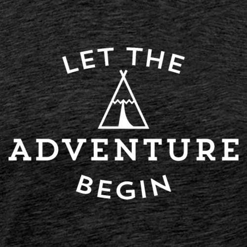 let the adventure - Camiseta premium hombre
