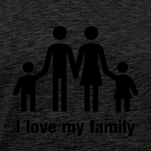 I love my family - Männer Premium T-Shirt