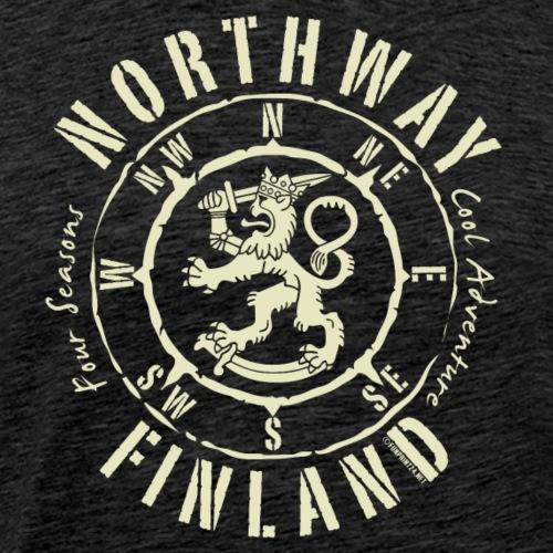 NORTHWAY KOMPASS FINLAND - Tekstiilit ja lahjat - Miesten premium t-paita
