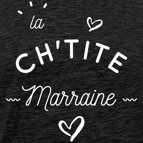 La ch'tite marraine - T-shirt Premium Homme