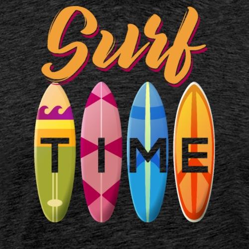 Surf Time - Männer Premium T-Shirt