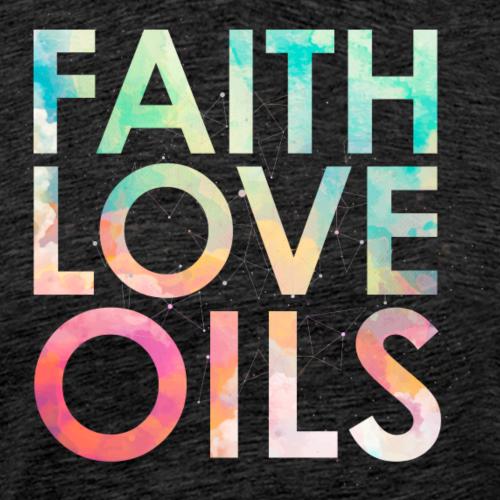 faithLOVEoils - Mannen Premium T-shirt