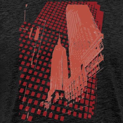 Digital Landscape - Herre premium T-shirt