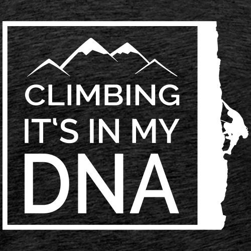 Klettern DNA - Männer Premium T-Shirt
