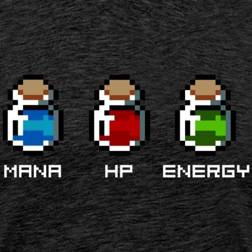 Mana, HP & Energy - Camiseta premium hombre