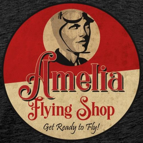 Vintage Flying Shop - Camiseta premium hombre