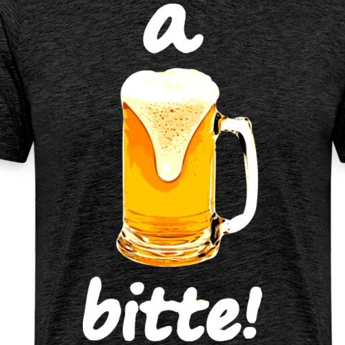 a Bier bitte - Männer Premium T-Shirt