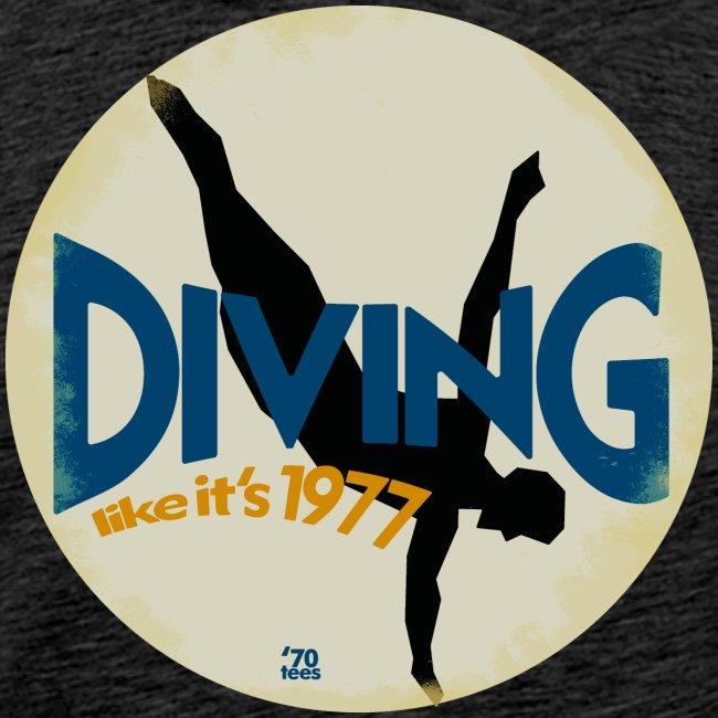 Diving like its 1977 vintaged