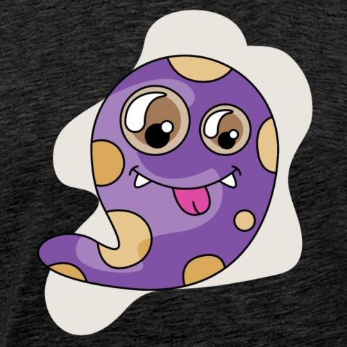 Petit Monstre Violet - T-shirt Premium Homme