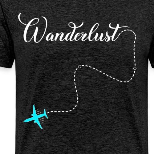 Reisen Weltreise Flugzeug Travelshirt - Männer Premium T-Shirt