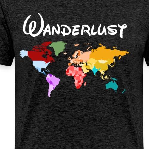 Reisen Weltreise Travelshirt Erde - Männer Premium T-Shirt