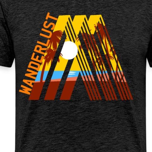 Reisen Weltreise Travelshirt Strand Sonne Palmen - Männer Premium T-Shirt