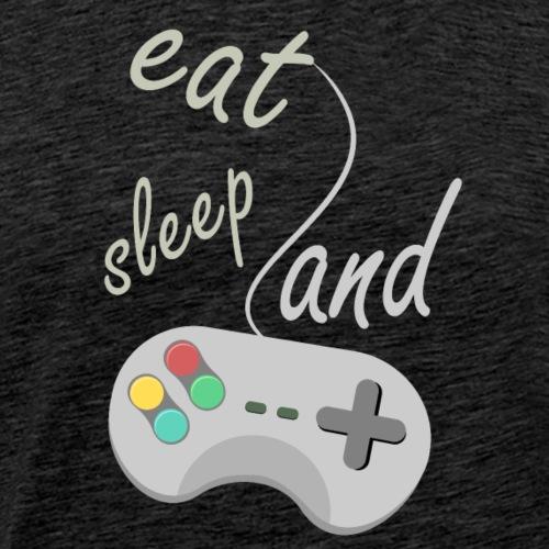 eat sleep and game