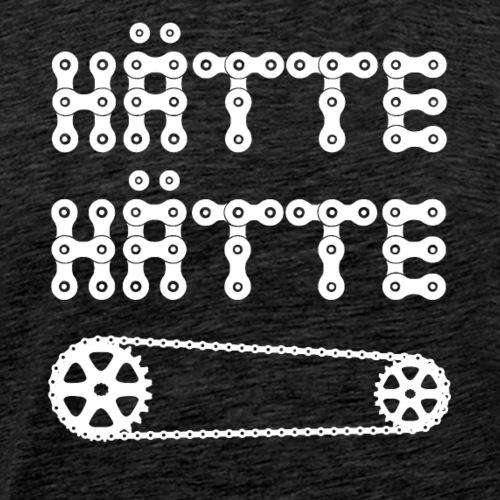Hätte Hätte Fahrradkette - Männer Premium T-Shirt