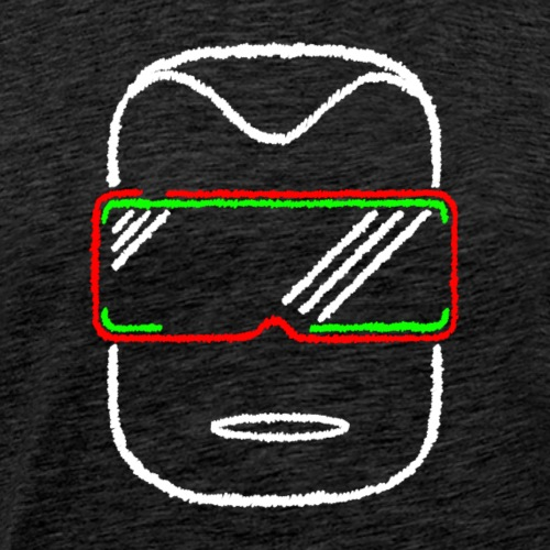 Die Zock Stube - Robot-Head 2020 - Männer Premium T-Shirt