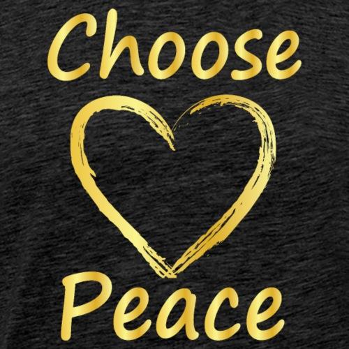 Choose Peace - Men's Premium T-Shirt