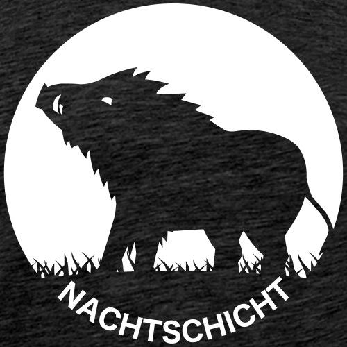 Nachtschicht bei Schweinesonne - Jägershirt - Männer Premium T-Shirt